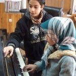 Elham teaching Sima